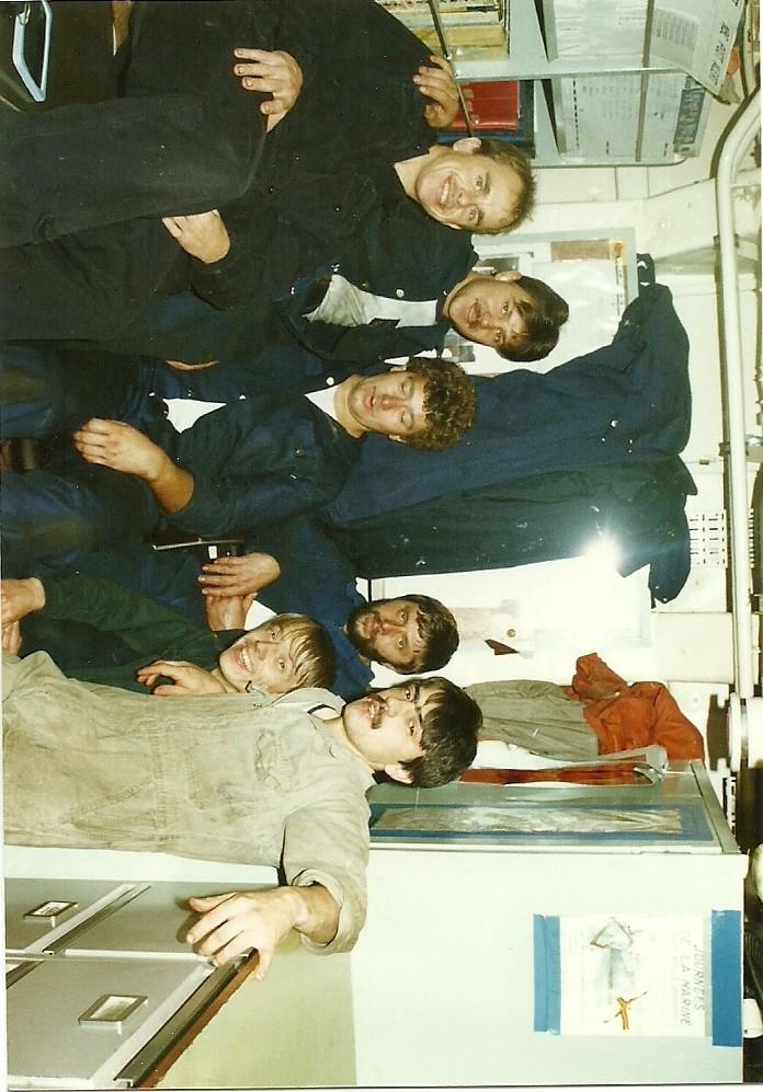 Le beau Westhinder quand j'étais à bord Photos14
