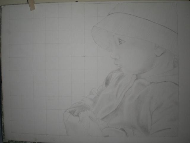 Mes dessins - reproduction, agrandissement d'oeuvres - Cimg1310
