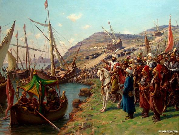 الفتح العظيم ( فتح القسطنطينية ) .  - صفحة 2 1684hh10