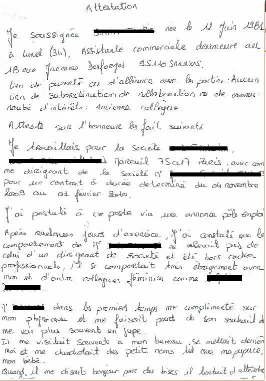 Violence conjugale & harcèlement  Deuxia10