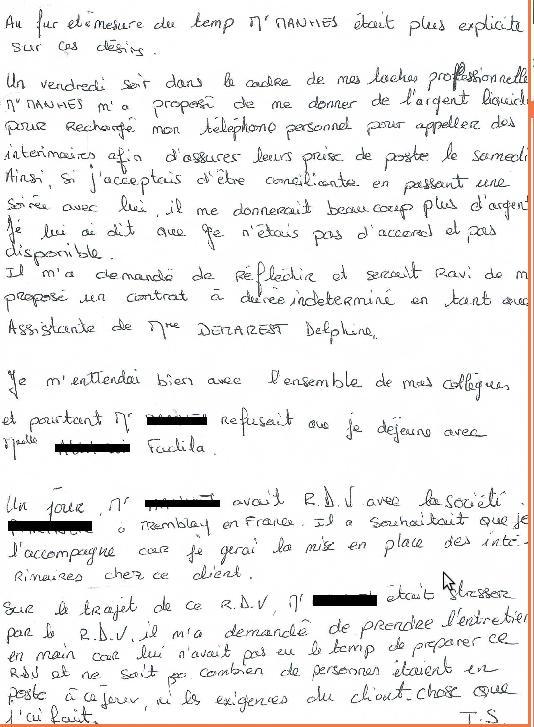 Violence conjugale & harcèlement  Deuxia11