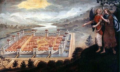 Image de la Jérusalem Céleste... Mauerk10