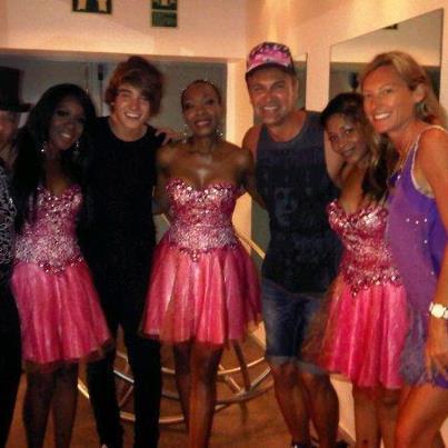07/07/2012 Maizie Williams in Spain Maizie21