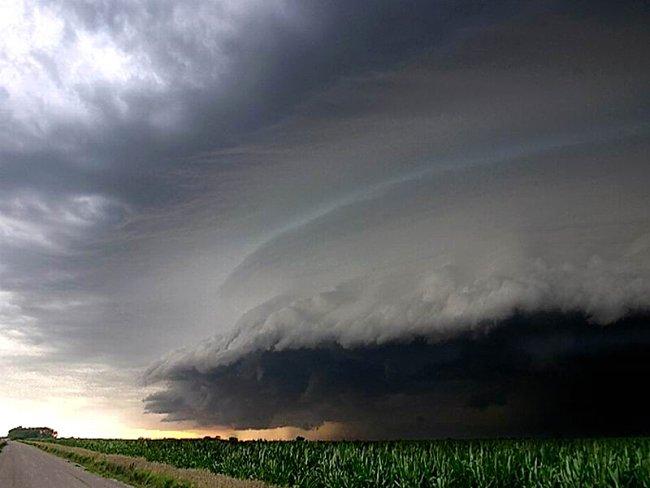 Le ciel avant l'ouragan Katrina Image021