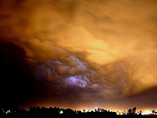 Le ciel avant l'ouragan Katrina Image025