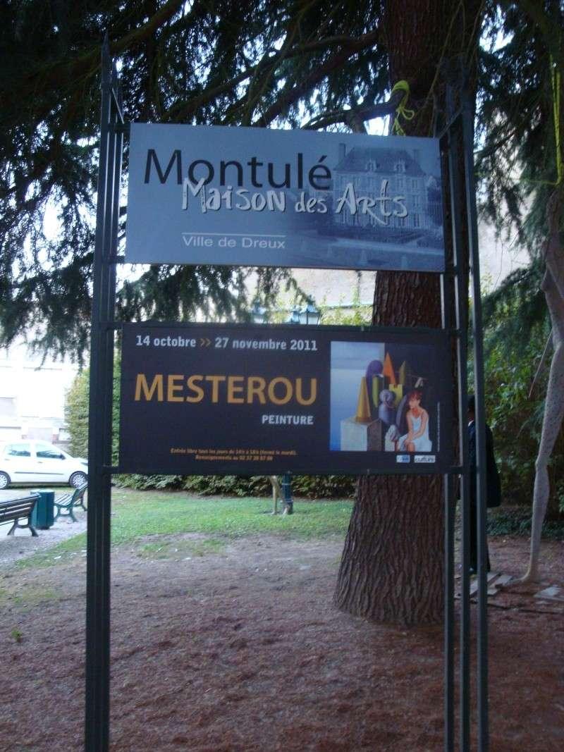 Vernissage Exposition Maria MESTEROU le 15/10/11 Dreux Dsc01933