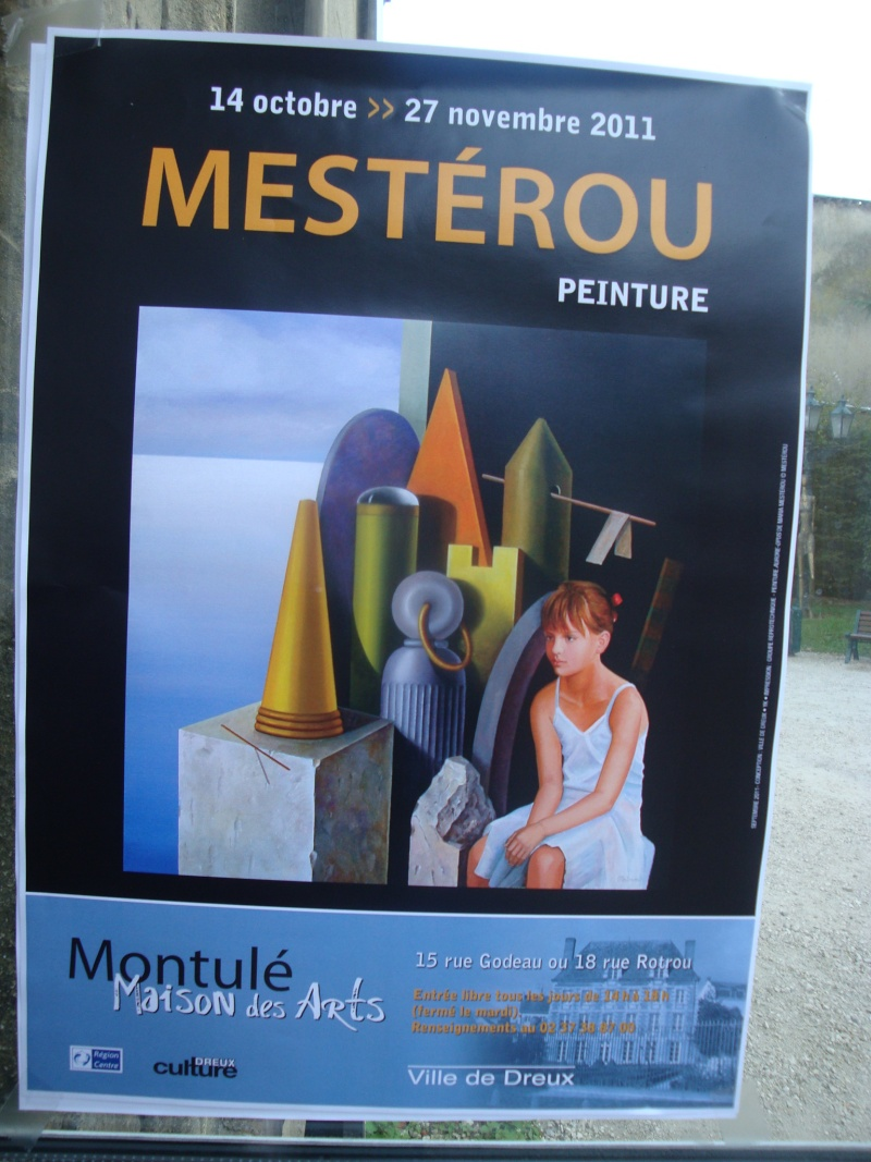 Vernissage Exposition Maria MESTEROU le 15/10/11 Dreux Dsc01934