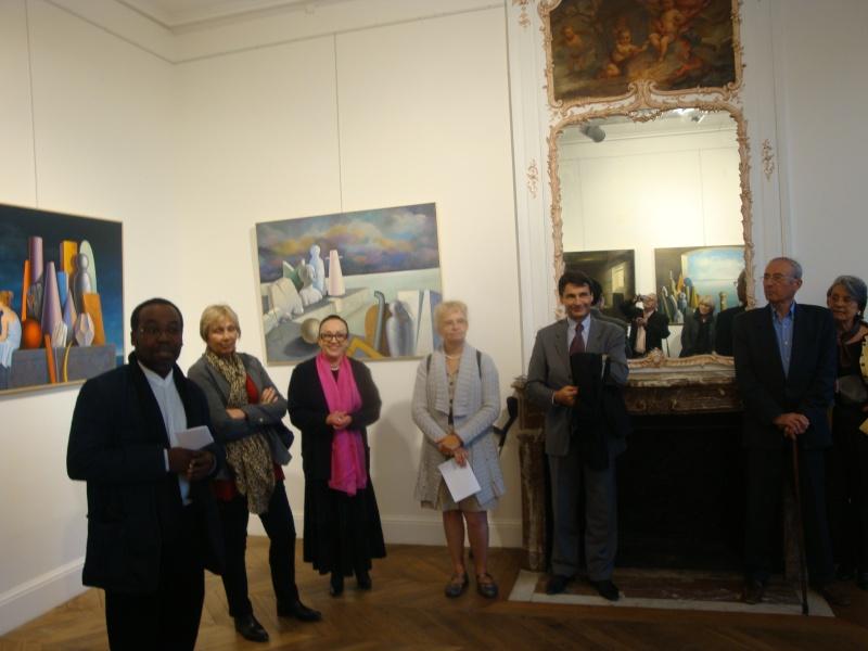 Vernissage Exposition Maria MESTEROU le 15/10/11 Dreux Dsc01936