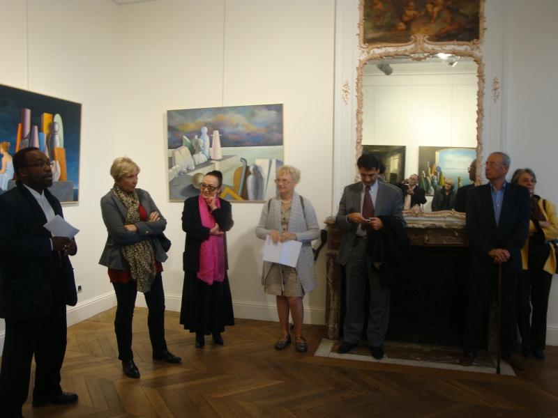 Vernissage Exposition Maria MESTEROU le 15/10/11 Dreux Dsc01937