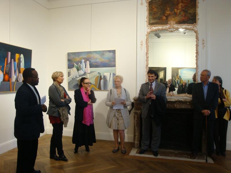 Vernissage Exposition Maria MESTEROU le 15/10/11 Dreux Dsc01938