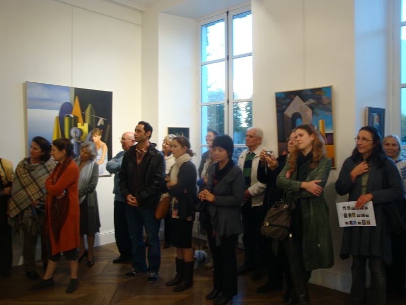 Vernissage Exposition Maria MESTEROU le 15/10/11 Dreux Dsc01939