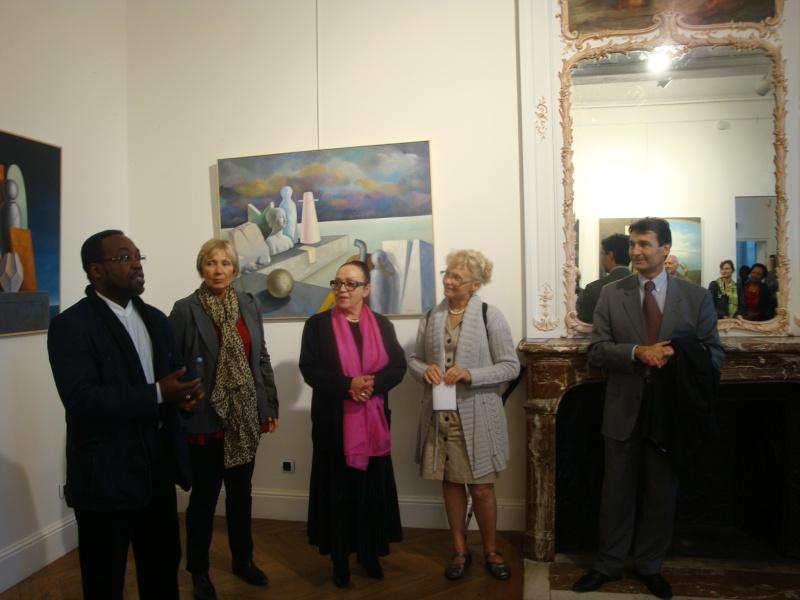 Vernissage Exposition Maria MESTEROU le 15/10/11 Dreux Dsc01941