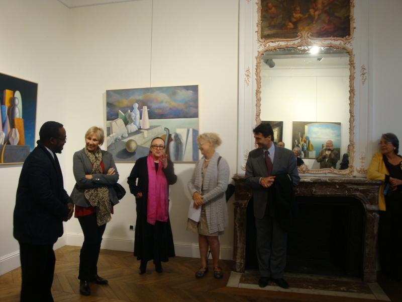Vernissage Exposition Maria MESTEROU le 15/10/11 Dreux Dsc01942