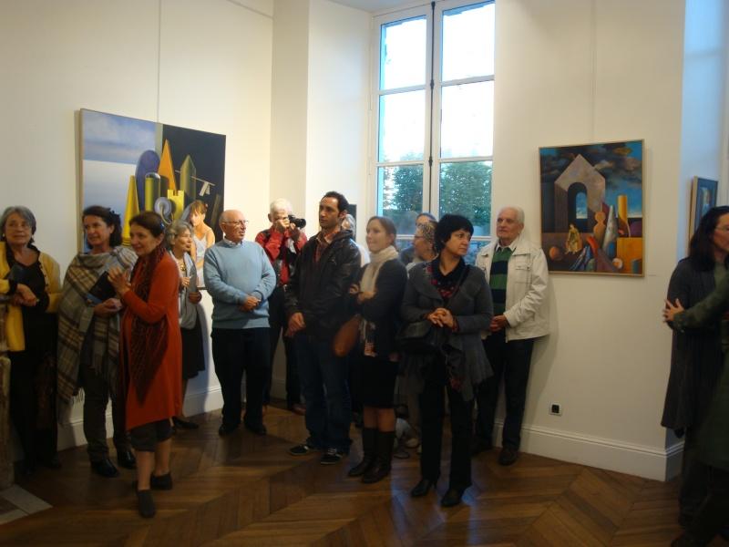 Vernissage Exposition Maria MESTEROU le 15/10/11 Dreux Dsc01943