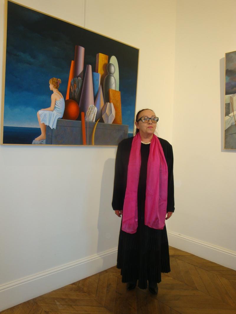 Vernissage Exposition Maria MESTEROU le 15/10/11 Dreux Dsc01944