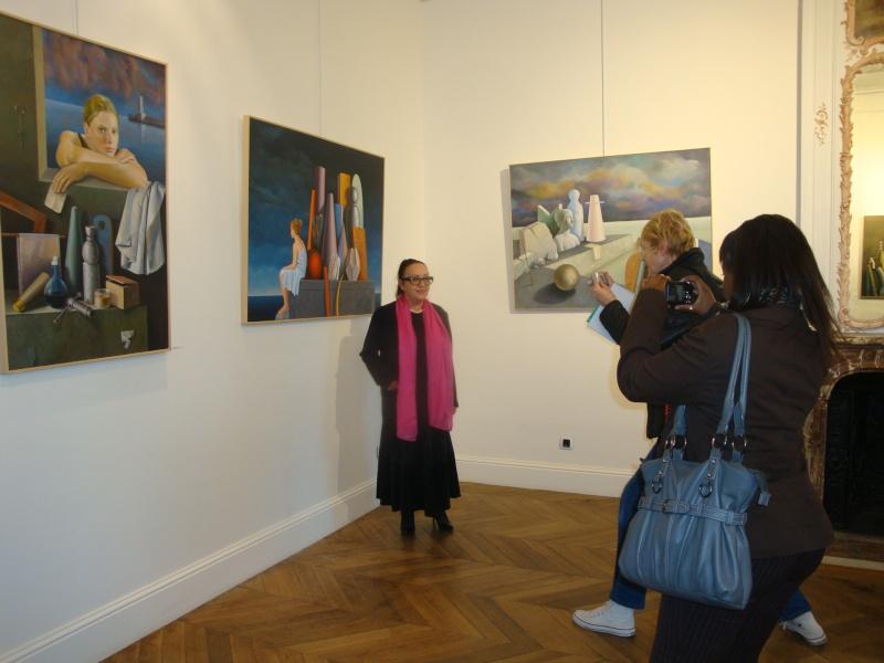 Vernissage Exposition Maria MESTEROU le 15/10/11 Dreux Dsc01945