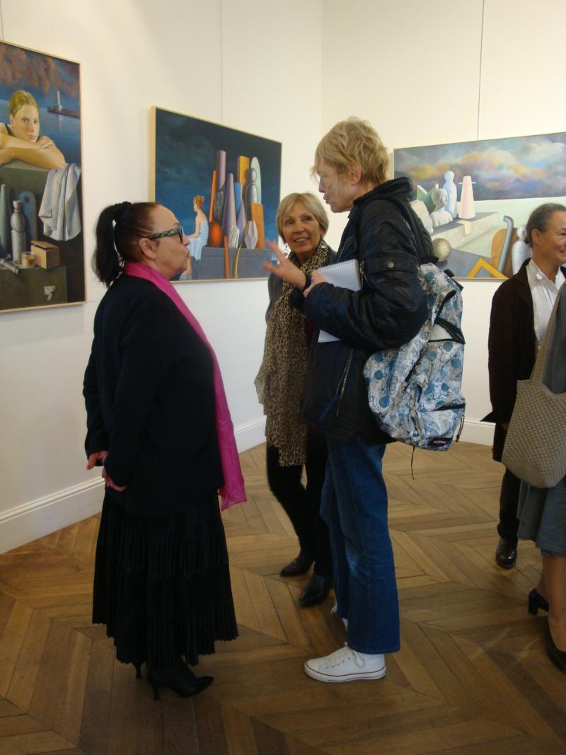 Vernissage Exposition Maria MESTEROU le 15/10/11 Dreux Dsc01946