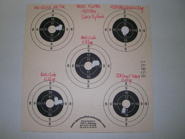 FEINWERKBAU 300S Kit MACCARI Lunette LUGER LR 8-32X44 Target Dot - Page 5 Sany0518