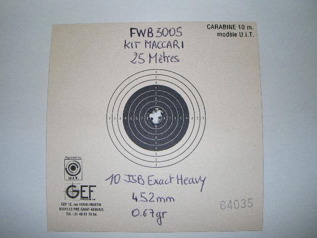 FEINWERKBAU 300S Kit MACCARI Lunette LUGER LR 8-32X44 Target Dot - Page 5 Sany0519