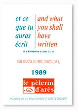 """A VENDRE """"Le pèlerin d'Arès"""" Ed 1989 / 1990 / 1991-1992 Ecrit_10"""