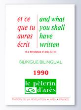 """A VENDRE """"Le pèlerin d'Arès"""" Ed 1989 / 1990 / 1991-1992 Ecrit_11"""