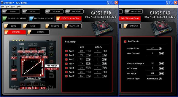 Mini tutorial su Kaoss Pad 3 come midi controller L_458410