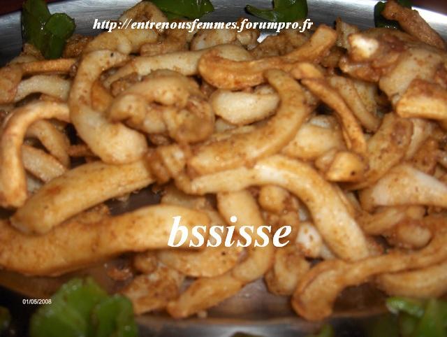 Calamars frits à la marocaine Calam110