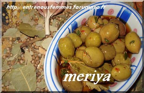 Olives marinées à la marocaine/ Zitoun maghribi mcharmel Olives10