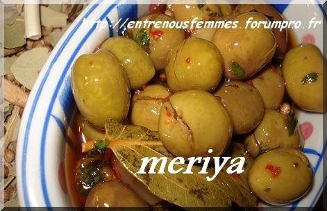 Olives marinées à la marocaine/ Zitoun maghribi mcharmel Olives11