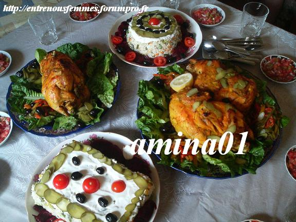 Poulets cuit à la vapeur à la marocaine Poulet12