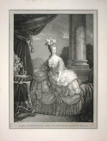 Portrait de la Reine 1778 - Page 2 Marie10