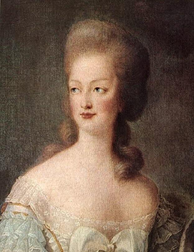 Portrait de la Reine 1778 - Page 2 Marie210