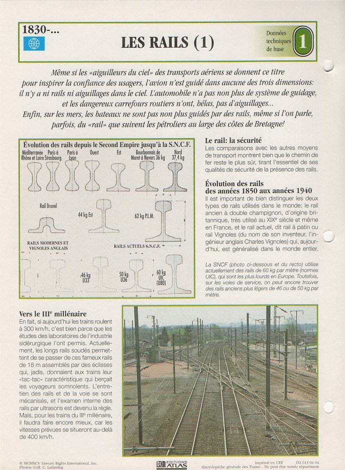 [Fiches Atlas] Trains de légende, éditions Atlas (1e partie) 00610