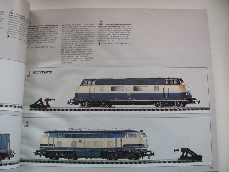 [Märklin] Catalogue 1984-1985 Img_0283