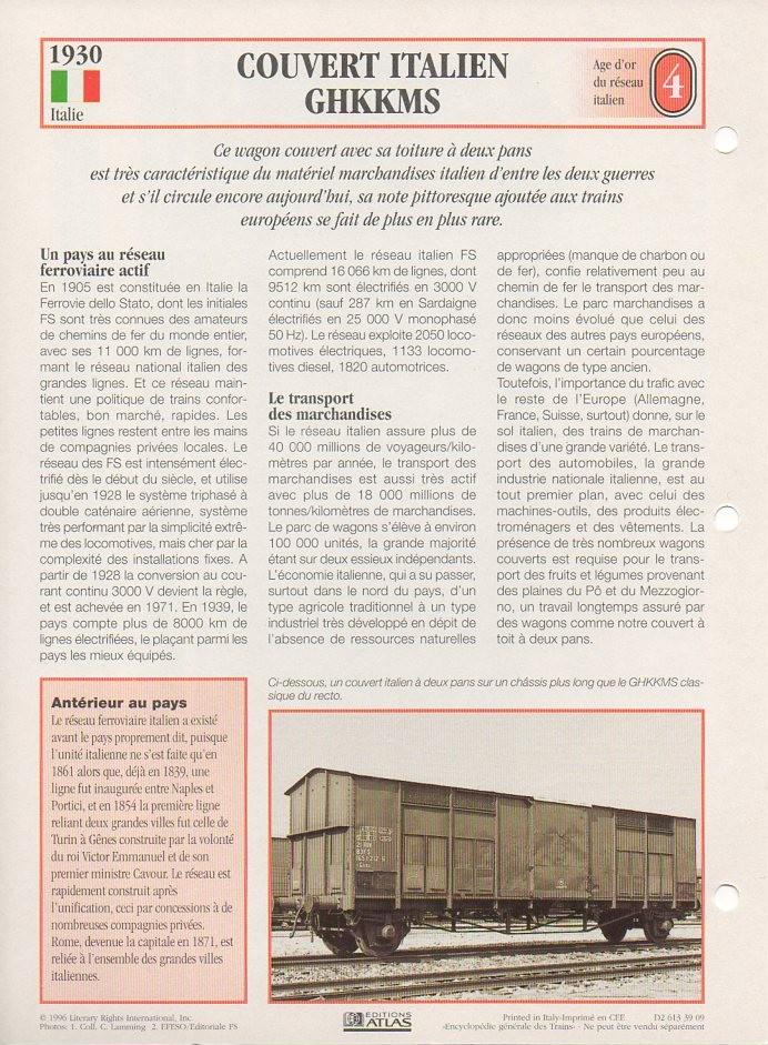 [Fiches Atlas] Trains de légende, éditions Atlas (1e partie) T06410