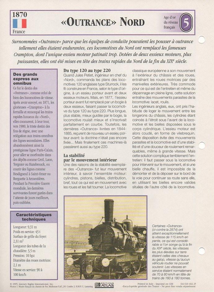 [Fiches Atlas] Trains de légende, éditions Atlas (1e partie) T07710