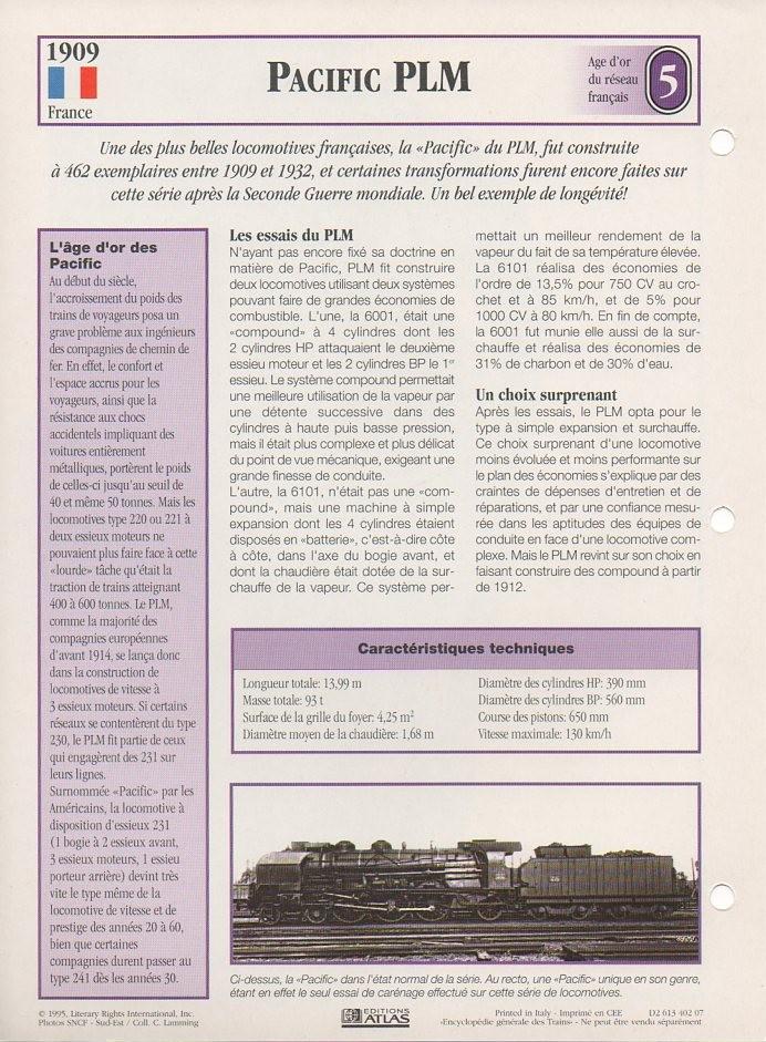 [Fiches Atlas] Trains de légende, éditions Atlas (1e partie) T08510