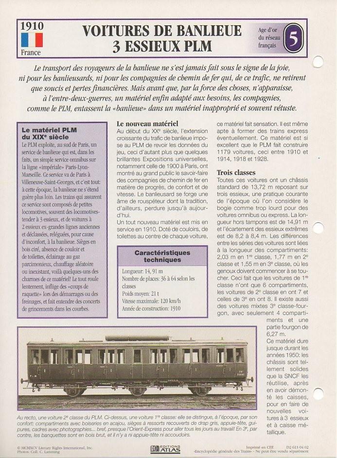 [Fiches Atlas] Trains de légende, éditions Atlas (1e partie) T08710