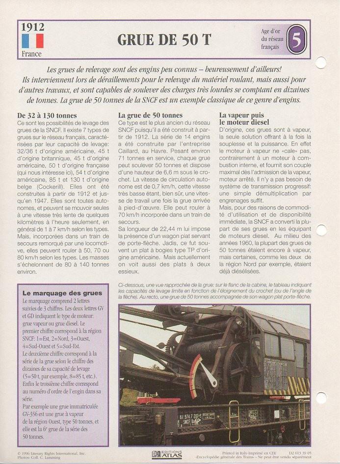 [Fiches Atlas] Trains de légende, éditions Atlas (1e partie) T09010