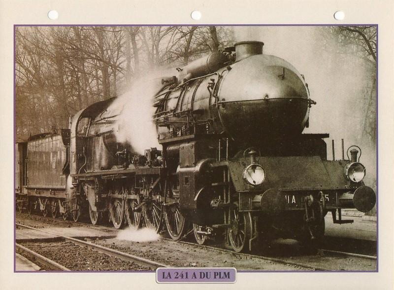 [Fiches Atlas] Trains de légende, éditions Atlas (1e partie) T09610