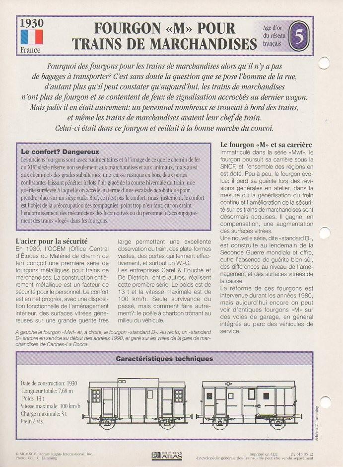 [Fiches Atlas] Trains de légende, éditions Atlas (1e partie) T10710
