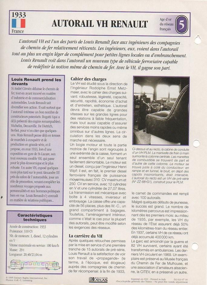 [Fiches Atlas] Trains de légende, éditions Atlas (1e partie) T11510