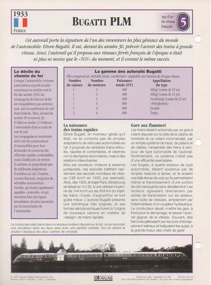 [Fiches Atlas] Trains de légende, éditions Atlas (1e partie) T11710