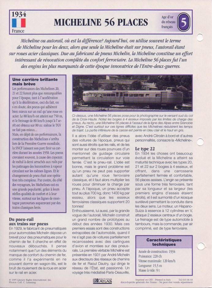 [Fiches Atlas] Trains de légende, éditions Atlas (1e partie) T12110