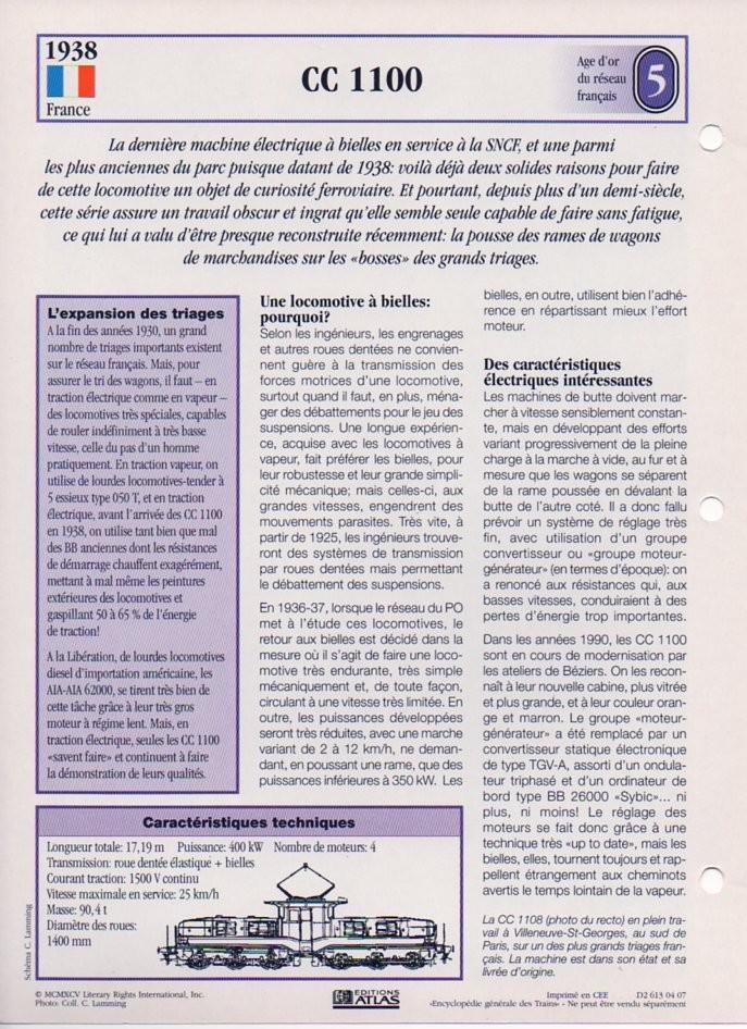 [Fiches Atlas] Trains de légende, éditions Atlas (1e partie) T12510