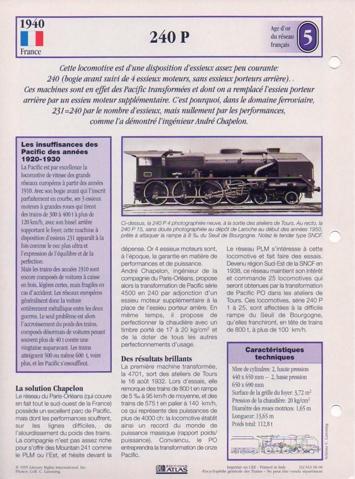 [Fiches Atlas] Trains de légende, éditions Atlas (1e partie) T12710