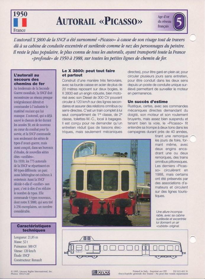 [Fiches Atlas] Trains de légende, éditions Atlas (1e partie) T13510