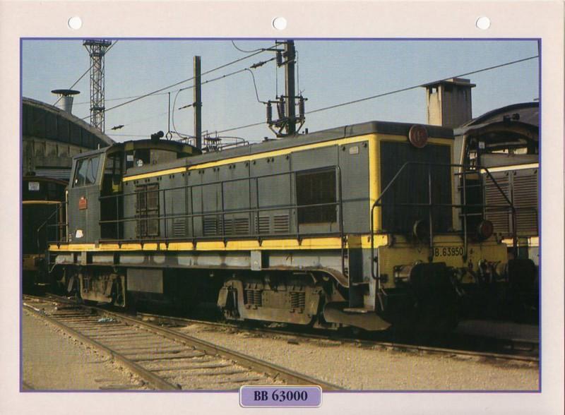 [Fiches Atlas] Trains de légende, éditions Atlas (2e partie) T13810