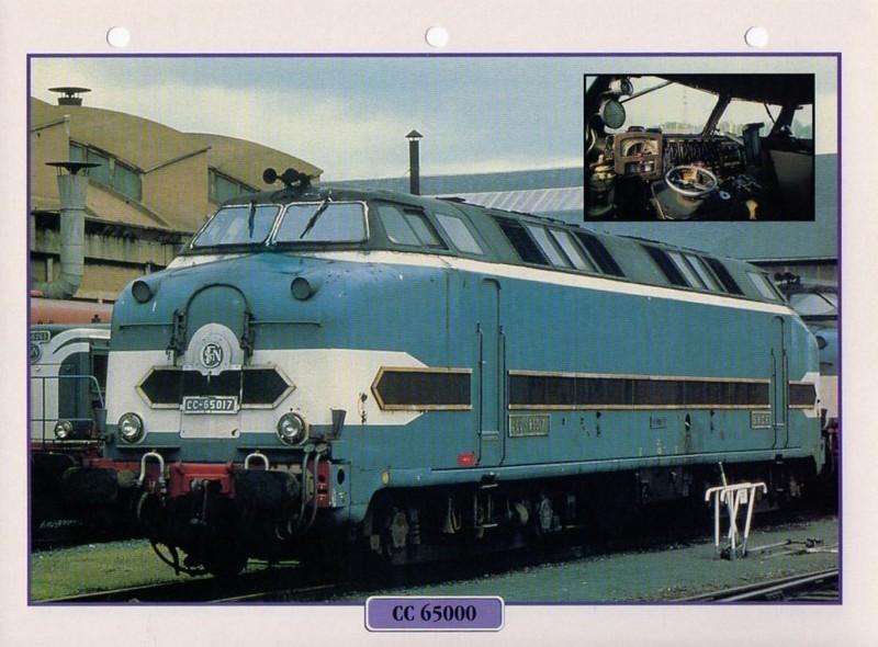 [Fiches Atlas] Trains de légende, éditions Atlas (2e partie) T14410