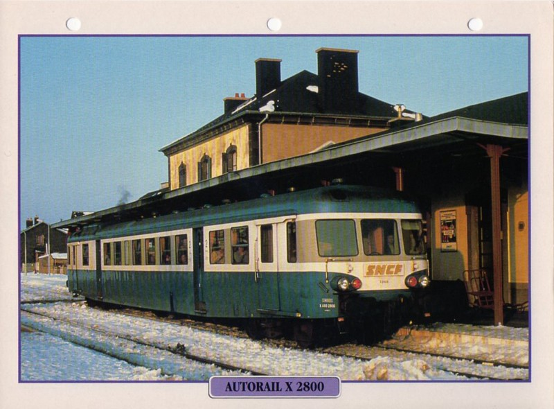[Fiches Atlas] Trains de légende, éditions Atlas (2e partie) T14810